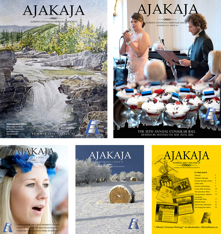 Selection of Ajakaja issues
