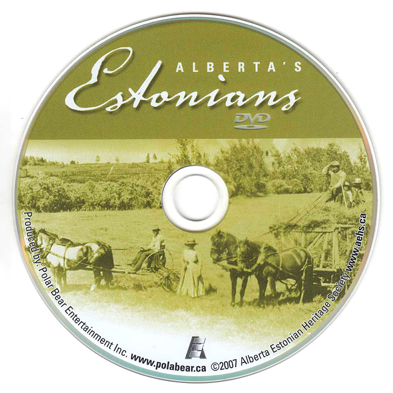 Alberta's Estonians DVD, produced by Polar Bear Entertainment