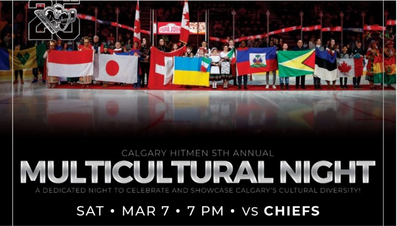 Hitmen Hockey Multicultural Night